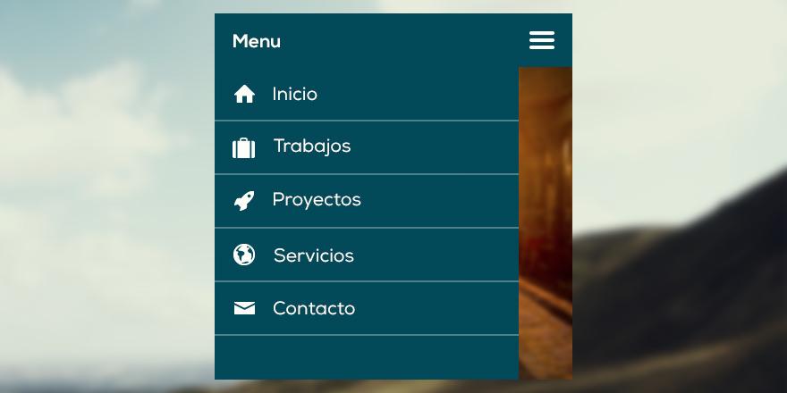 horizontal menu templates free download - men s de navegaci n en 2015 soluciones web desarketing