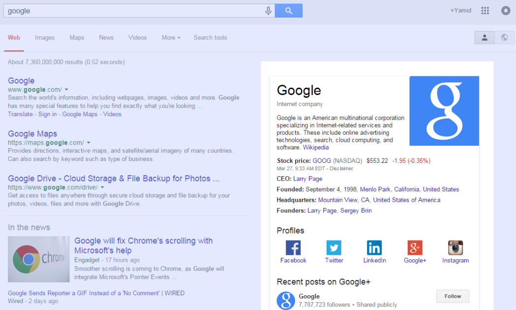Marcar el logo de tu web para los resutados en Google