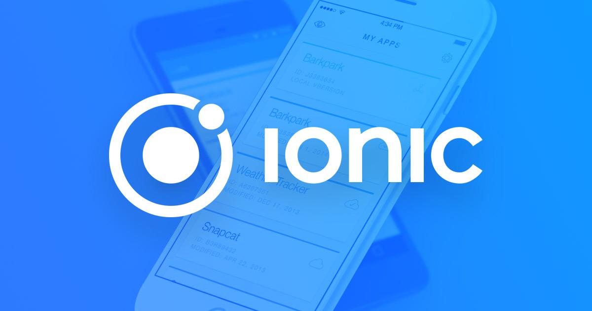 Ionic Framework Corp - Desarketing